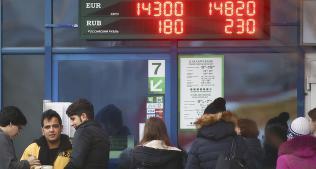 Valutapanikk i Hvite�russland etter rubel-ras