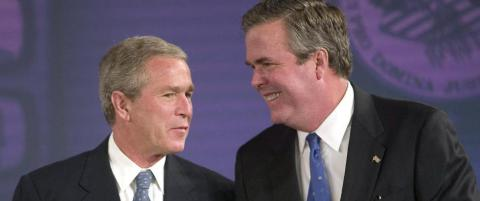 Bush-dynastiet i valgkampmodus foran 2016