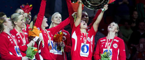 Over 1,7 millioner s� de norske jentene ta EM-gull