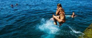 Her er landets beste badetemperaturer