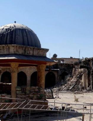 Syria-krig legger verdensarv i grus