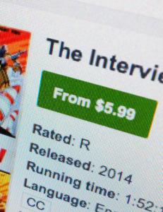 N� har de lagt �The Interview� ut p� internett