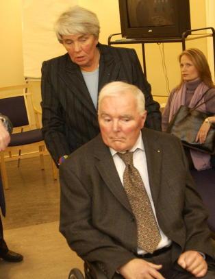 Ingeborg Mor�us Hanssen mistet sin ektemann i natt