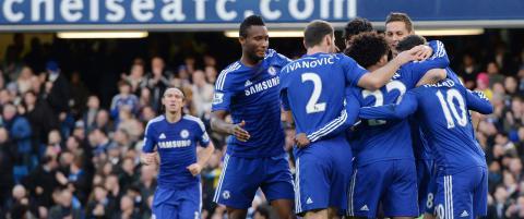 Chelsea kan ikke tape