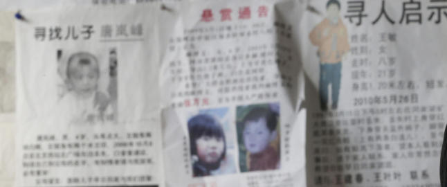 70 000 barn kidnappes hvert eneste �r i Kina