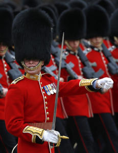 Dronningens gardister trekkes tilbake av terrorfrykt