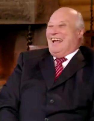 Her kaller kong Harald dronning Sonja for et �troll�