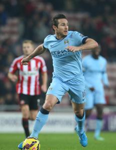 Lampard Manchester City-spiller sesongen ut