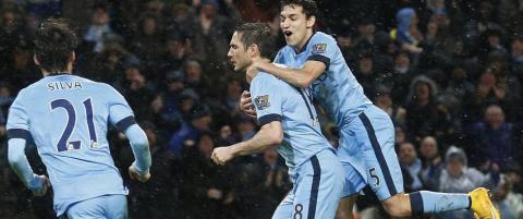 Lampard reddet Manchester City