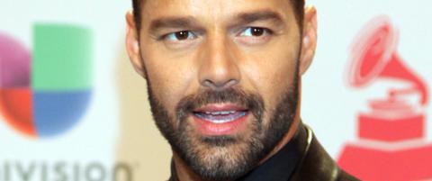 Ricky Martin sp�ker med d�dsryketene