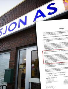 Bod�-firma tier om mystiske kontrakter