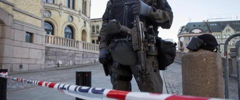 Politiet skal vokte Stortinget med maskinpistoler