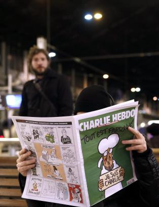 Charlie Hebdo er utsolgt i hele Frankrike