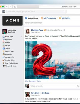 Nye Facebook er lansert