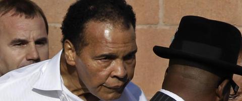 Ny teori om Muhammad Alis sykdom p� hans 73-�rs dag