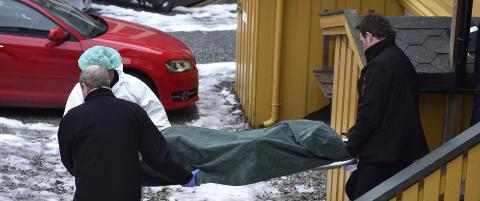 Politiet l�slater mann etter d�dsfall i Trondheim