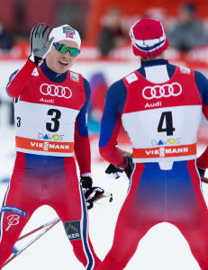 Norges sannsynlige VM-duo sl�tt i spurten