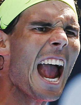 Skadefri Nadal enkelt videre i Australian Open