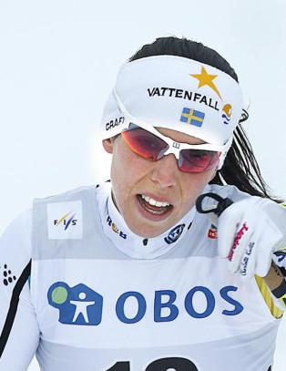 Charlotte Kalla dropper svensk idrettsgalla