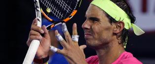 Syk Nadal m�tte tilkalle lege i Australian Open