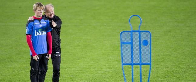- Vi hadde et godt m�te med Ancelotti og Zidane: De er p� samme linje som oss