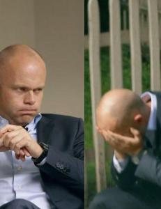 Her m� mentaltrener Erik Bertrand Larssen bryte TV-opptaket