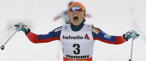 Johaug kastet ski og staver i bakken og skrek