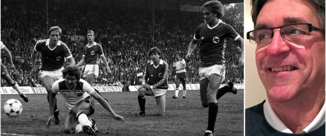 Han var f�rste nordmann i b�de tysk og engelsk fotball