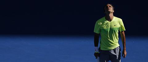 Tennissjokk i Australia: Federer sl�tt ut