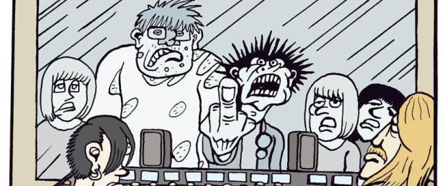 Christopher Nielsen gj�r tegneseriecomeback med en slagkraftig p�nk noir