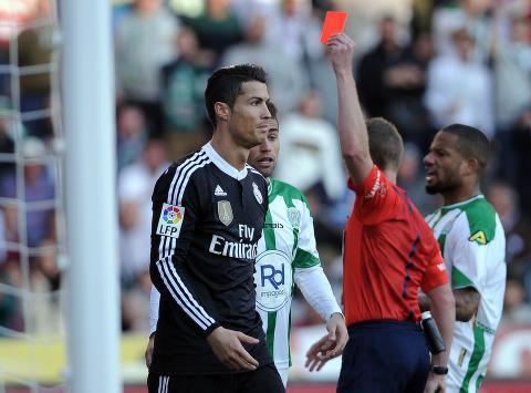 - Ronaldo risikerer tolv kampers utestengelse