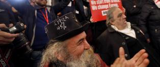 Kjempeseier for Syriza i Hellas