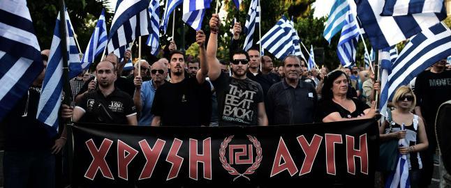 H�yreekstremt parti er Hellas' tredje st�rste. Kan havne i regjeringsforhandlinger