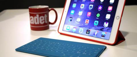 Superhendig iPad-tastatur