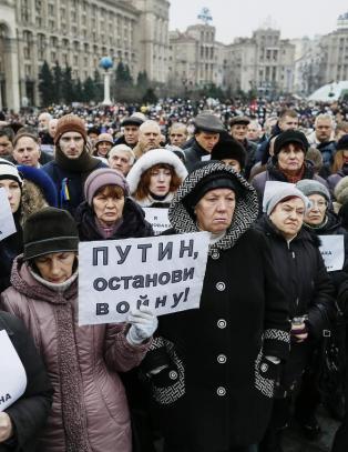 Krigen i Ukraina kan n� bli total og utslettende