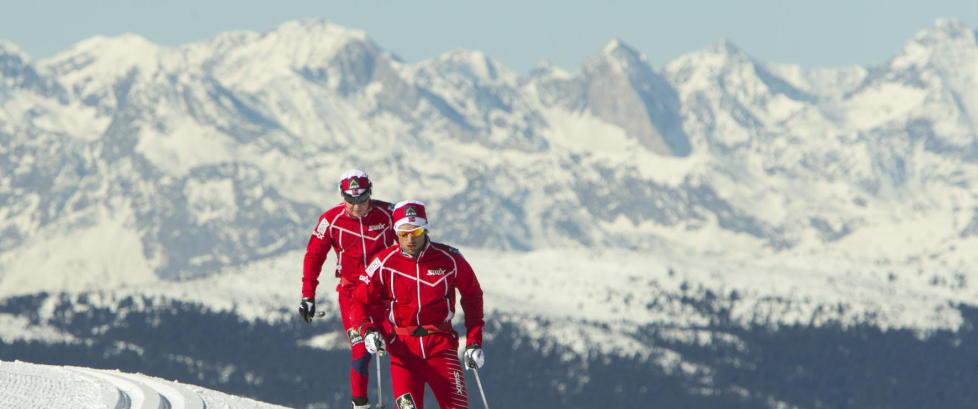 Northug tar VM-forberedelsene p� over 2000 meter over havet