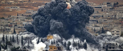 - Kurdiske styrker har drevet IS ut av Kobani