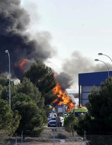 Gresk F16-fly krasjet i andre fly i Spania