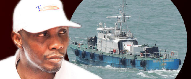 Krigsherre med norske kampskip truer med borgerkrig i Nigeria