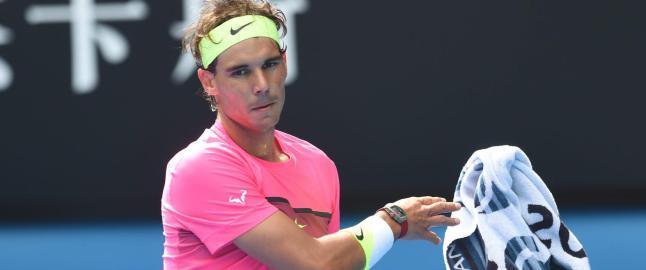 Rafael Nadal sl�tt ut av Australian Open