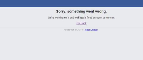 - Facebook kom til Norge under den r�dgr�nne regjeringa. Under bl�bl�tt styre krasjer det. Takk, @erna_solberg !