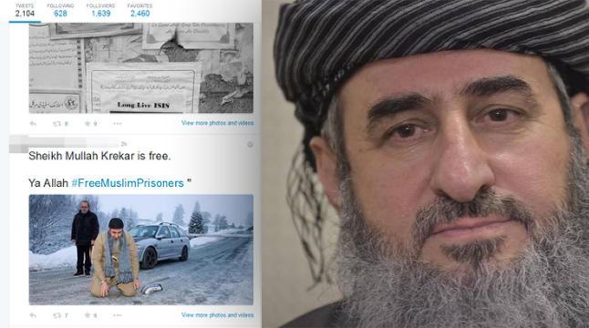 IS-aksjonister hyller Krekars l�slatelse