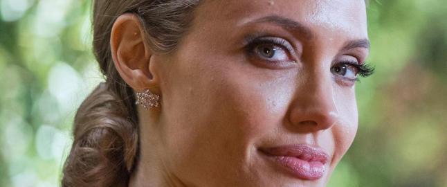 Jolie er alltid p� listene over verdens vakreste kvinner, hun er gift med Brad Pitt og lever et privilegert luksusliv i Los Angeles