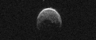 Her er asteroiden som passerte jorda
