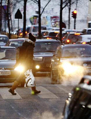 Dieselbiler kan f� kj�reforbud i Oslo neste vinter