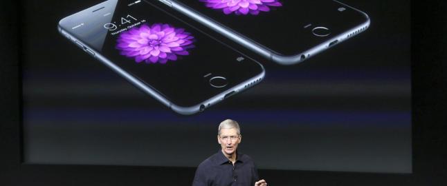 Apple presenterte det st�rste kvartalsoverskuddet i verdenshistorien