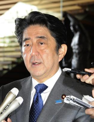 Japans statsminister raser mot IS-terrorister