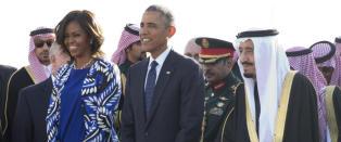 Michelle Obama fikk sin egen hashtag etter � ha dukket opp slik