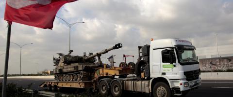 N�: - Rakett skutt fra Libanon mot Israel, traff forsvarskj�ret�y