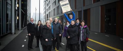 Politisk storstreik over hele landet: Send inn dine bilder til Dagbladet